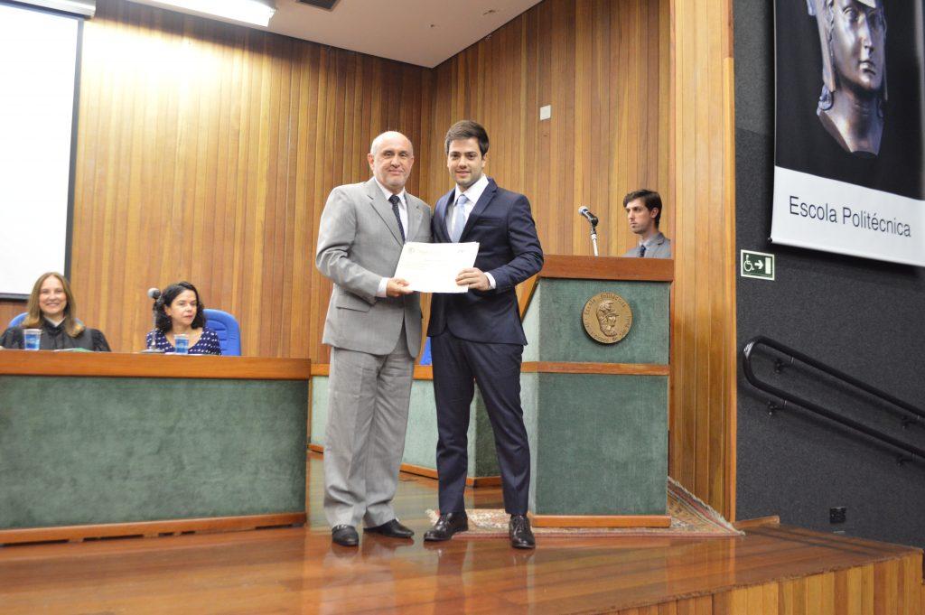 Prêmio aos melhores alunos da Poli USP
