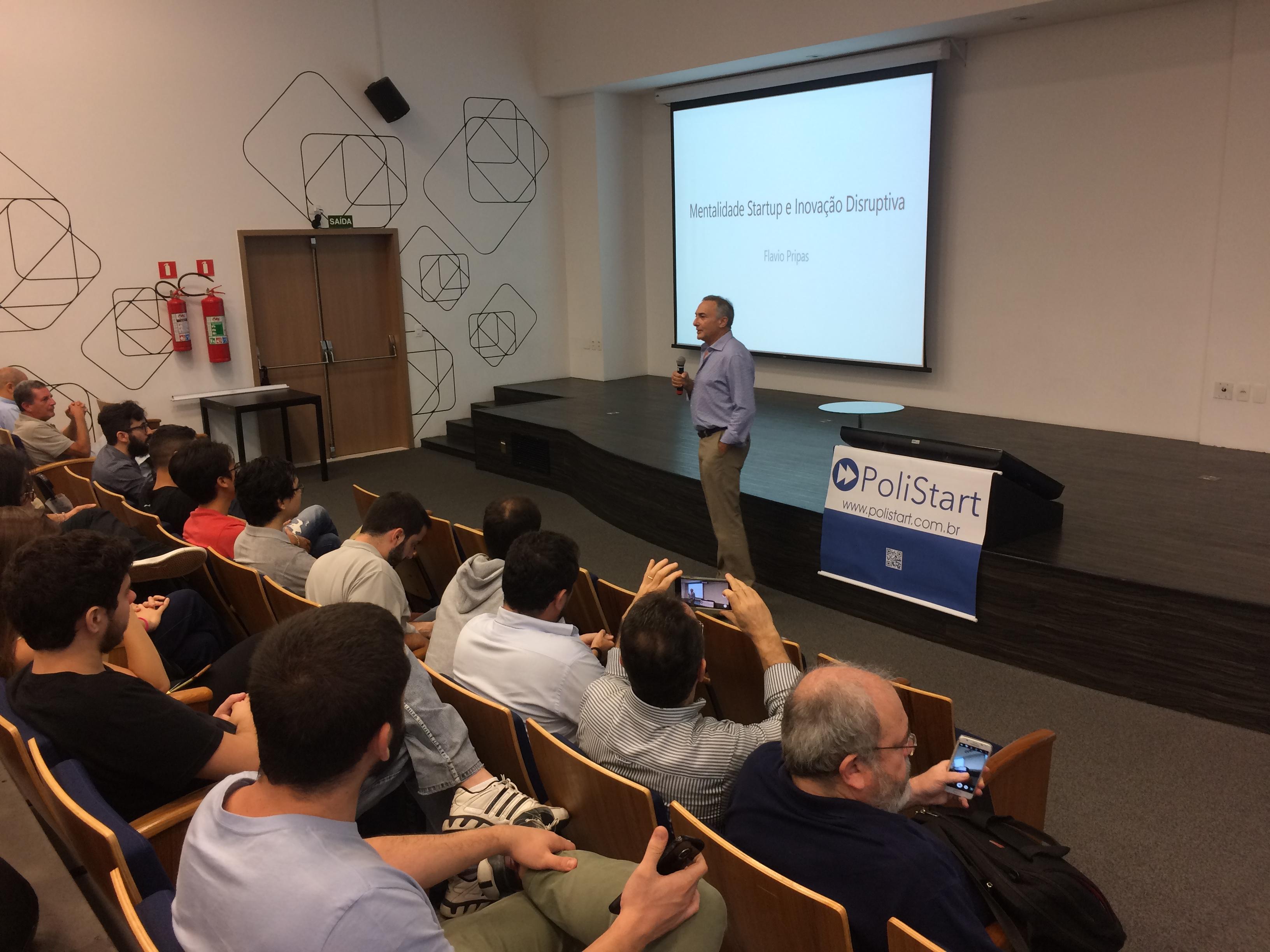 PoliStart estréia em evento do Cubo e apresenta 10 startups de estudantes da Politécnica e USP