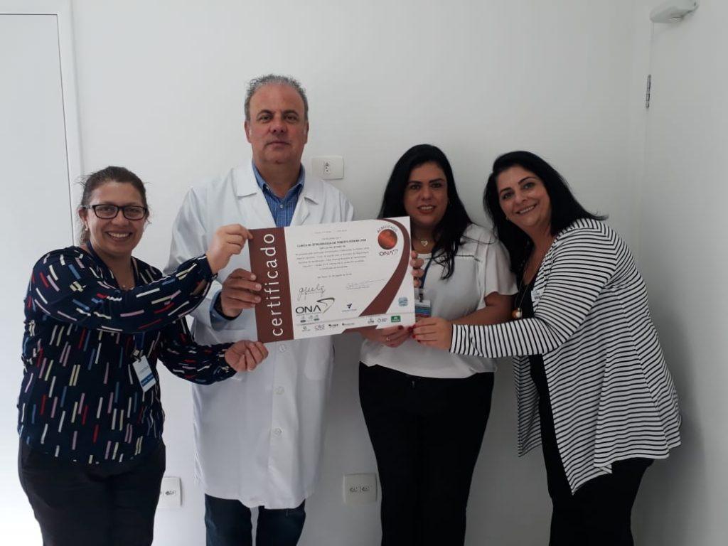 Novas organizações de saúde recebem Acreditação ONA da Fundação Vanzolini