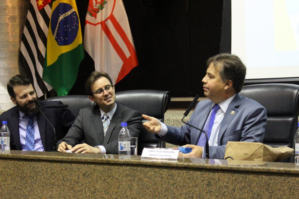O presidente da Atricon, Fábio Nogueira explica a escolha pela Fundação Vanzolini e fala da importância deste trabalho.