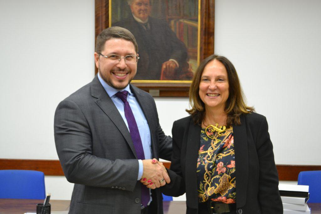 Vice-governador do Amazonas conhece projetos e ações da Fundação Vanzolini e Poli-USP