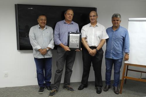 Celpos recebe placa referente a certificação ISO/IEC 27001
