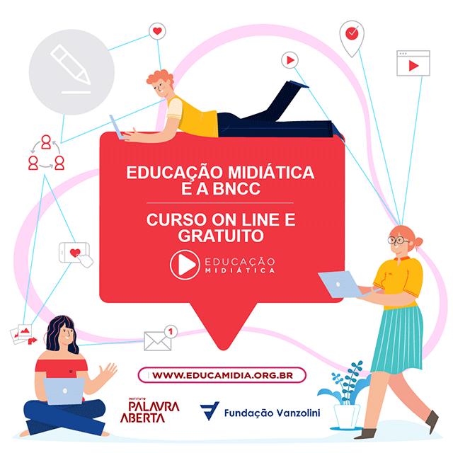 Fundação Vanzolini e Palavra Aberta lançam curso sobre Educação Midiática